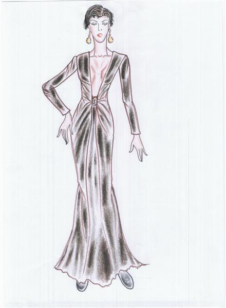 รับออกแบบเสื้อผ้า ชุดราตรีสำหรับผู้หญิงที่ชอบซ่อนความเปรี้ยว