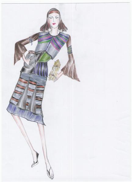 รับออกแบบเสื้อผ้า ชุดย้อนยุคประยุกต์