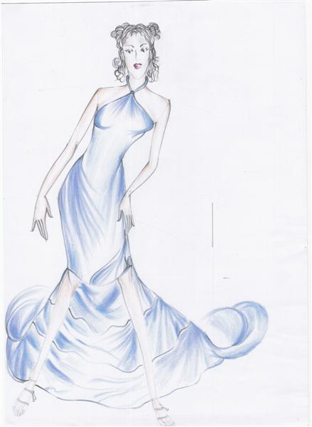 Fashion design ชุดราตรี
