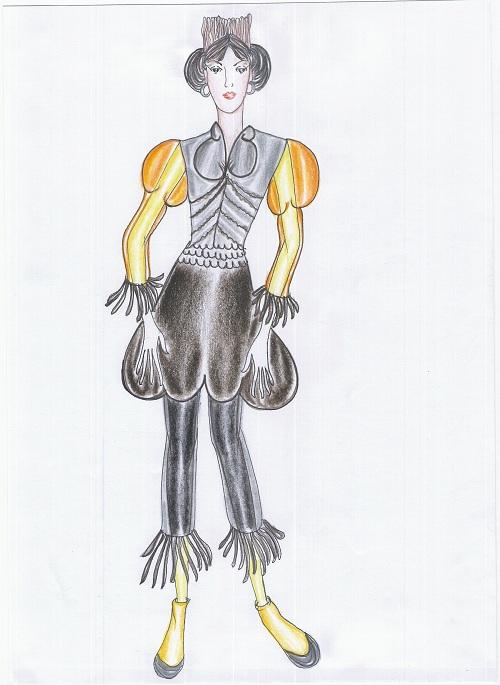 Fashion design ชุดแฟนซี