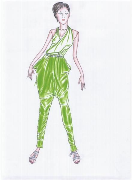 รับออกแบบเสื้อผ้าแฟชั่น ชุดทำงานเหมาะสำหรับคนอ้วน