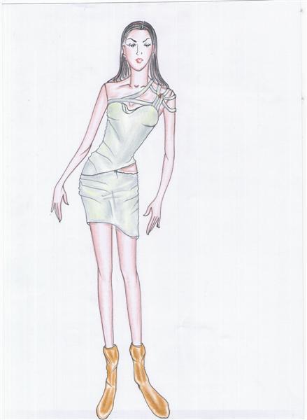 รับออกแบบเสื้อผ้า ชุดราตรีสำหรับคนรูปร่างผอมบาง