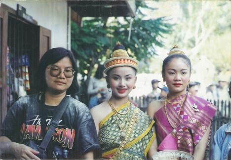นางสังขารเมืองหลวงพระบางนางขันทะลี พันทะวง ปี 1994 พุทธศักราช 2537